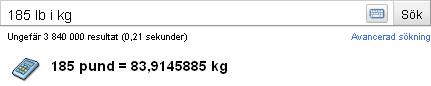 Pund i kg