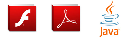 Flash, Acrobat och Java