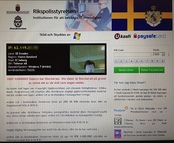 Norska polisen drabbad av datorvirus
